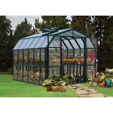 Hobby Greenhouses Rion Grand Gardener 2 Clear Greenhouse U2014 8ft W X 12ft L Model