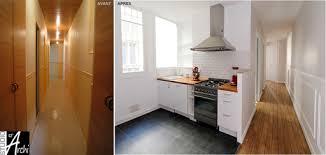 ouvrir cuisine ouvrir la cuisine sur le couloir studio d archi le d