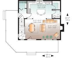 floor plans for narrow lots open floor plan for narrow lot 22319dr architectural designs