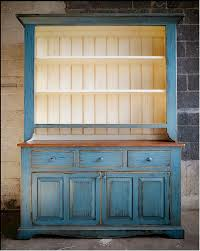 painted pine cabinet hutch primarily pine