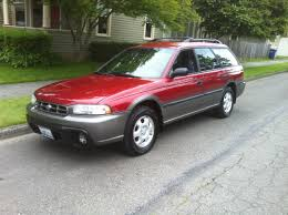 subaru red 1996 subaru outback for sale awd auto sales