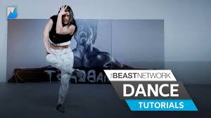 tutorial dance who you tbsn dance tutorial janelle ginestra believer the beast network