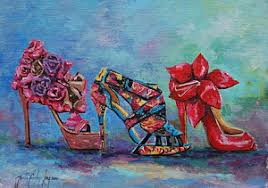 Blog Kate Zucconi Fashion Artist And Illustrator High Heels Paintings Page 8 Of 28 Fine Art America