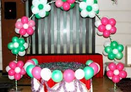 balloon decoration for birthday at home simple balloon decoration ideas for 1st birthday party balloon