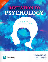 invitation to psychology 6th ed carole wade u0026 carol tavris