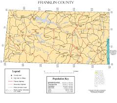 Mississippi County Map Franklin County Alabama Community Information And Maps