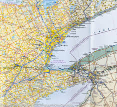 Map Of Lower Michigan by City Map Of Toronto U0026 Map Of Southern Ontario Itm U2013 Mapscompany