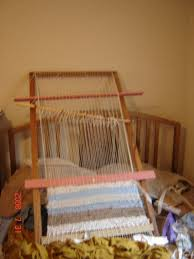 How To Make A Rag Rug Weaving Loom Frame Loom Rag Rug A Rag Rug Weaving On Cut Out Keep