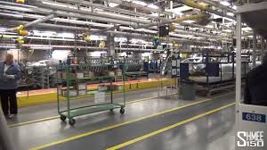 ford mustang assembly plant tour 2015 tour of the ford mustang factory flat rock plant detroit