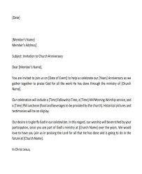 13 formal invitation letters