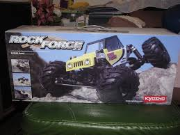 suzuki monster truck kyosho rock force suzuki jimny rock crawler new just built r c