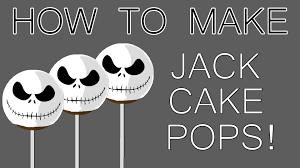 how to make halloween jack cake pops youtube