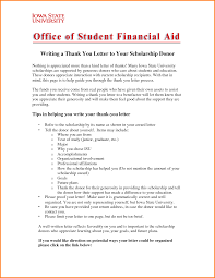 Charity Thank You Letter Sample how to write a thank you letter for a scholarship sample