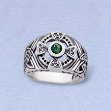 mens celtic rings men s sterling silver celtic ring
