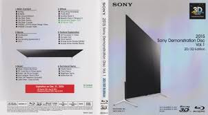 Home Design 3d Demo by 2015 Sony Demonstration Disc Vol 1 U2013 2d 3d Edition