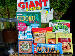 food baskets to send healthy sudoku get well gift basket