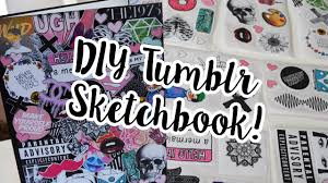 diy sketchbook decor diy sticker drawing journal