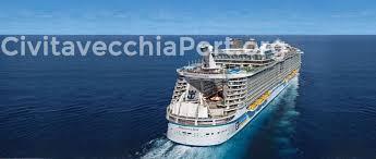 harmony of the seas at port of rome civitavecchia civitavecchia