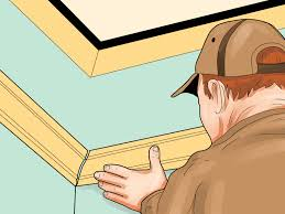 ways to cut crown molding wikihow imanada discount home decor