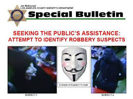 Guy Fawkes Mask Meme - know who they are authorities say the pair robbed cerritos liquor