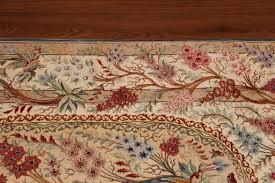 Handmade Iranian Rugs Pictorial Tree Of Life Silk Qom Persian Rugs 3208