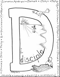 absolutely ideas jesus disciples coloring page apostle paul