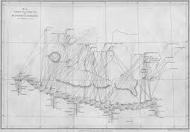 Himilayas Map Waugh U0027s Triangulation Map Of The Himalayas 1862 Drawing