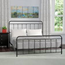 Platform Metal Bed Frame Metal Platform Beds You Ll Wayfair