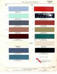 Paint Chips by Paint Chips 1955 Chrysler