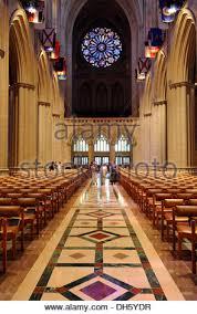 National Cathedral Interior Washington National Cathedral Washington D C Usa Stock Photo