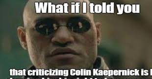 Colin Kaepernick Memes - colin kaepernick s fans have no answer to this