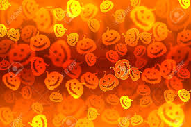 halloween stars background pumpkin bokeh halloween background stock photo picture and