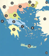 Greece On The Map by Map Of Greek Lands