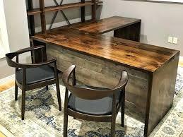 Wood L Shaped Desk 19 Luxury Real Wood L Shaped Desk Best Home Template