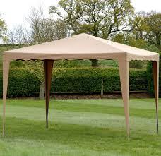 patio gazebo lowes camelot gazebo 3 x 3m mocha amazon co uk garden u0026 outdoors