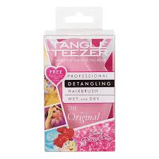tangle teezer original disney princess hair brush free