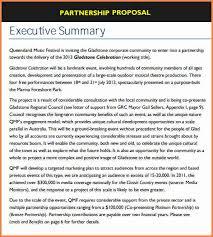 5 sample business partnership proposal project proposal