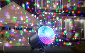 Party Lighting Holiday Party Plus Multi Color Indoor Outdoor Projected Light