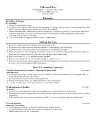Roofing Skills Resume Colemanfitch Resume
