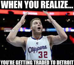 Blake Griffin Memes - nba memes blake griffin right now facebook