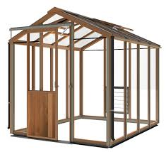 6ft X 8ft Greenhouse Alton Evolution Six 6ft X 8ft Cedar Greenhouse