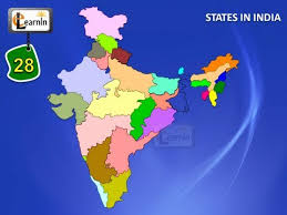 28 states of india with map general knowledge for kids youtube