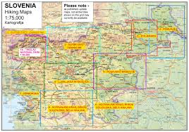 Alps Mountains Map Julian Alps West Stanfords