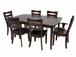 trailway wood alt3648 dining set includes solid wood amish table