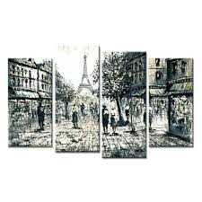wall art painting hd prints pictures home decoration frame 4 panel