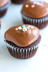 easy double chocolate sour cream cupcakes recipe