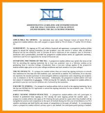College National Letter Of Intent National Letter Of Intent Football Signs Student Athletes To