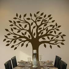 brown tree tree wall decals photo gallery of wall tree decals home decor ideas