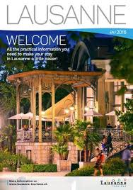 bureau de change lausanne lausanne tourisme welcome 2016 by lausanne tourisme issuu