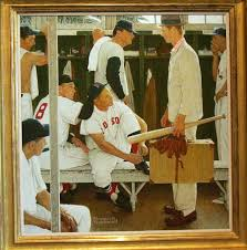 norman rockwell painting the rookie sells for 22 5 million